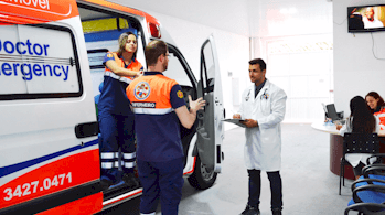 ambulancia suporte UTI
